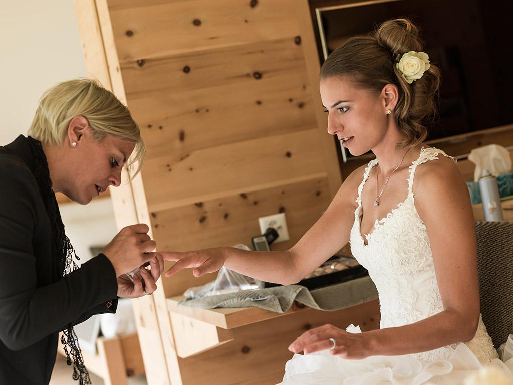 Hochzeit Manicure